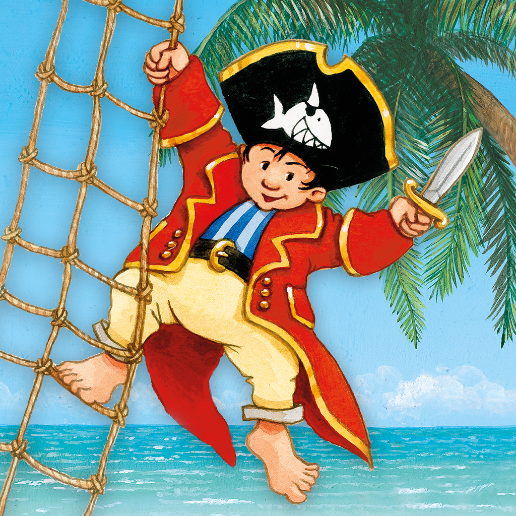 Käpt'n Sharky Piratenspaß zum Lesen und Spielen